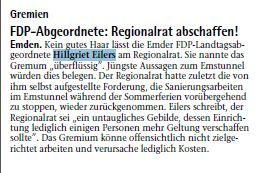 20140611 FDP Abgeordnet Regionalrat abschaffen EZ