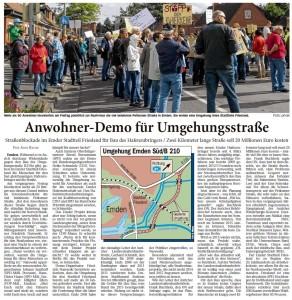 20140625 Anwohner-Demo für Umgehungsstraße ON