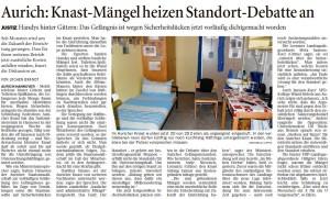 20140726 Aurich Knast Mängel heizen Standort-Debatte an OZ