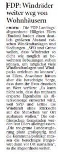20140820 FDP Windräder weiter weg von Wohnhäusern OZ