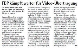 20140918 FDP kämpft weiter für Videoübertragung EZ