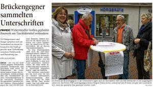 20141020 Brückengegner sammelten Unterschriften OZ