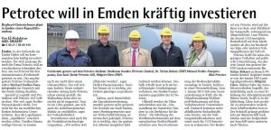 20141031 Petrotec will in Emden kräftig investieren EZ