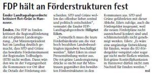 20141101 FDP hält an Förderstrukturen fest EZ