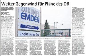 20141205 Weiter Gegenwind für Pläne des OB EZ