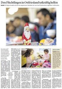 20141220 Den Flüchtlingen in Ostfriesland tatkräftig helfen OZ