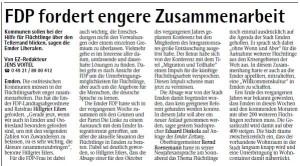20150113 FDP fordert engere Zusammenarbeit EZ