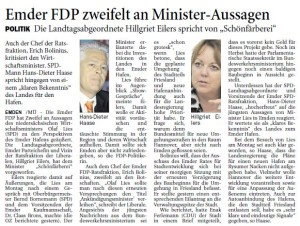 20150218 Emder FDP zweifelt an Minister-Aussagen OZ