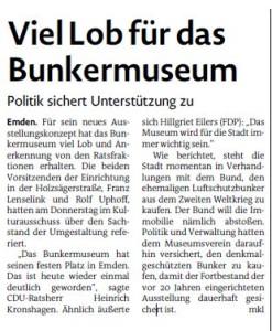 20150627 Viel Lob für das Bunkermuseum EZ