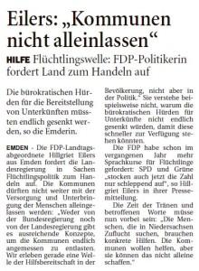20150918 Eilers - Kommunen nicht alleinlassen OZ