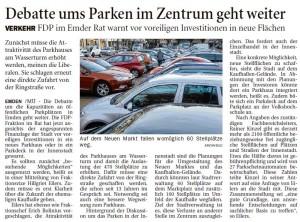 20151021 Debatte ums Parken im Zentrum geht weiter OZ