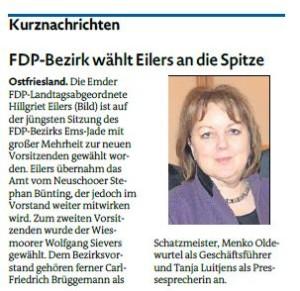 20160211 FDP-Bezirk wählt Eilers an die Spitze EZ