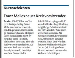 20160415 Franz Melles neuer Kreisvorsitzender EZ