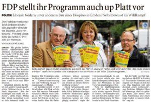 20160813 FDP stellt ihr Programm auch up Platt vor OZ