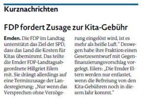 20170203 FDP fordert Zusage zur Kita-Gebühr EZ