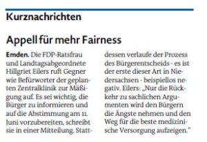 20170510 Appell für mehr Fairness EZ