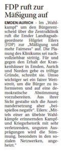 20170511 FDP ruft zur Mäßigung auf OZ
