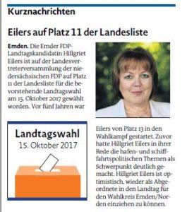 20170815 Kurznachrichten EZ