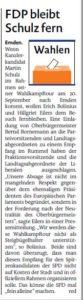 20170913 FDP bleibt Schulz fern EZ