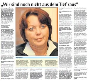 Ute Lipperheide interviewte Hillgriet Eilers ausführlich für die Emder Zeitung
