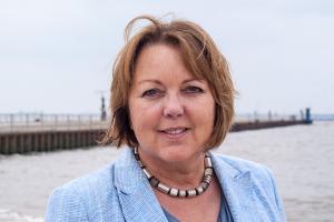Hillgriet Eilers, hafenpolitische Sprecherin der FDP-Landtagsfraktion