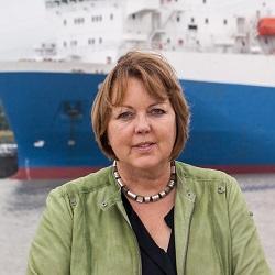 Hillgriet Eilers, Sprecherin der FDP-Landtagsfraktion für Häfen und Schifffahrt