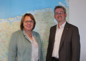 Hillgriet Eilers und Dr. Dirk Lüerßen